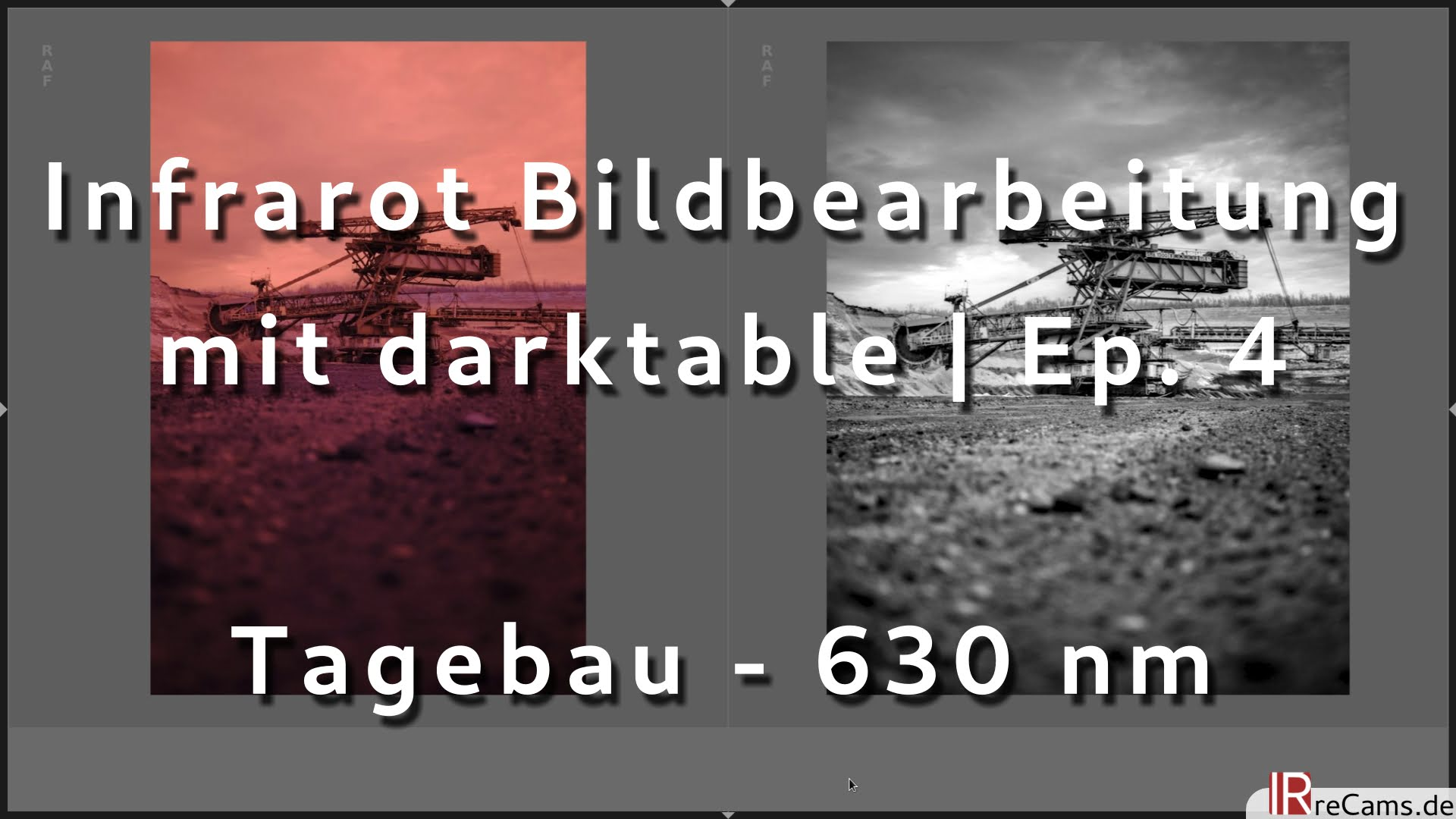 Infrarot Bildbearbeitung in darktable 3.0 | Ep. 4