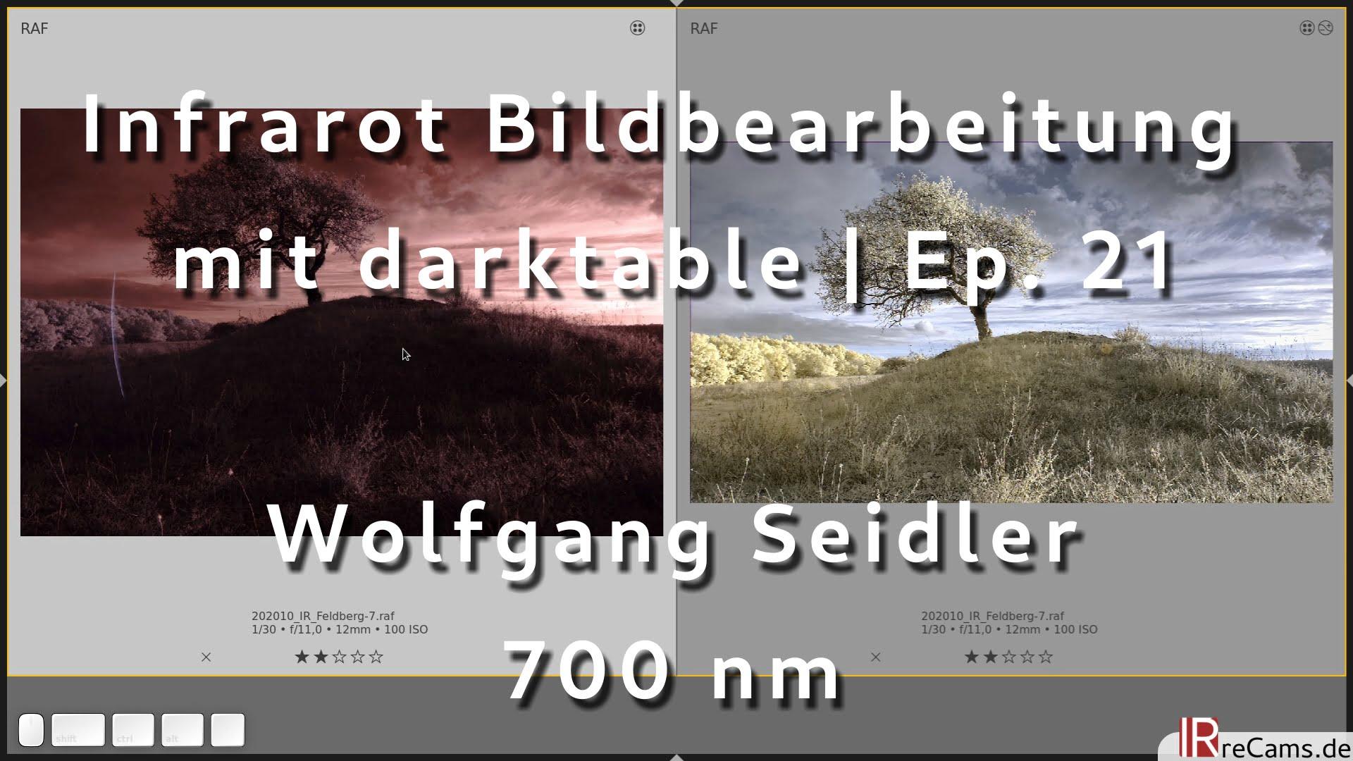Infrarot Bildbearbeitung mit darktable | Ep. 21