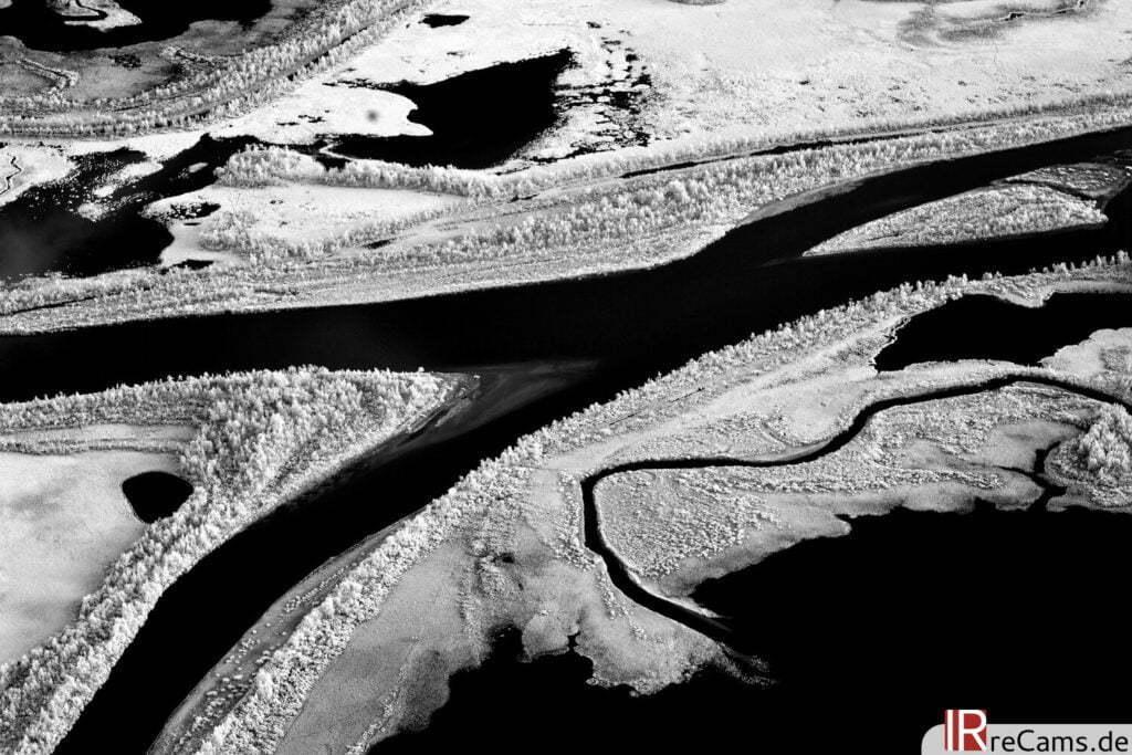 Ráhpaädno Delta vom Skierfe | IR | 100 % | 40 mm | f/7,1 | 1/8 sec | ISO 200