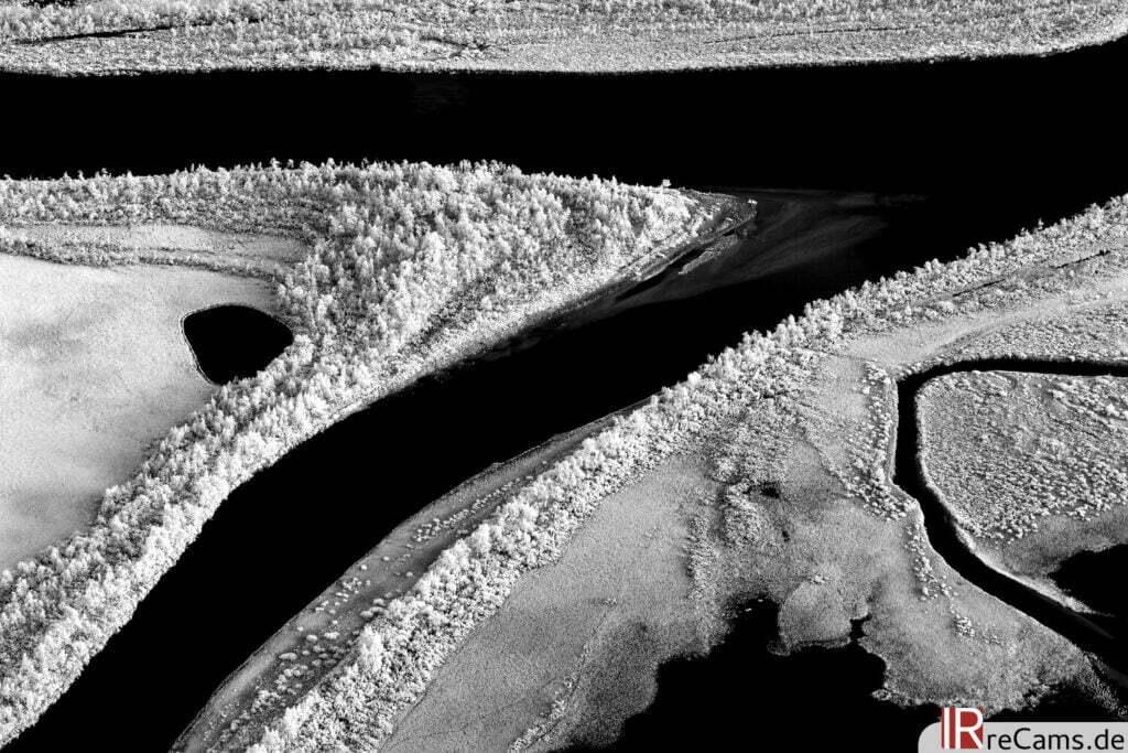 Ráhpaädno Delta vom Skierfe | IR | 100 % | 100 mm | f/10,0 | 5 sec | ISO 200