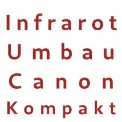 Infrarot Umbau Service Canon Kompakt