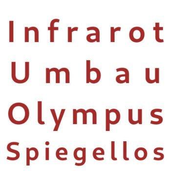 Infrarot Umbau Service Olympus Spiegellos