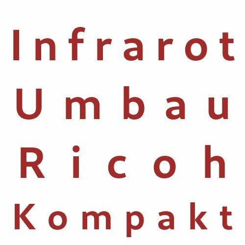 Infrarot Umbau Service Ricoh Kompakt