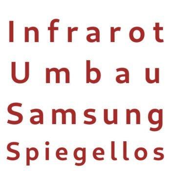 Infrarot Umbau Service Samsung Spiegellos