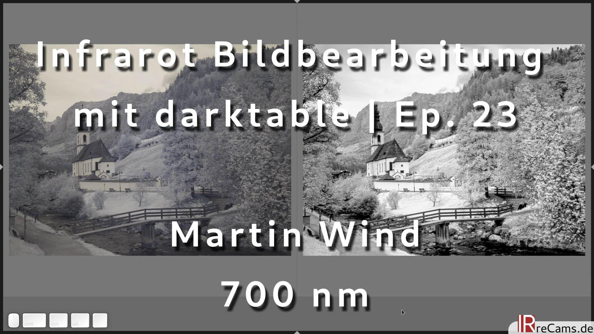 Episode 23 700 nm Infrarot Bearbeitung