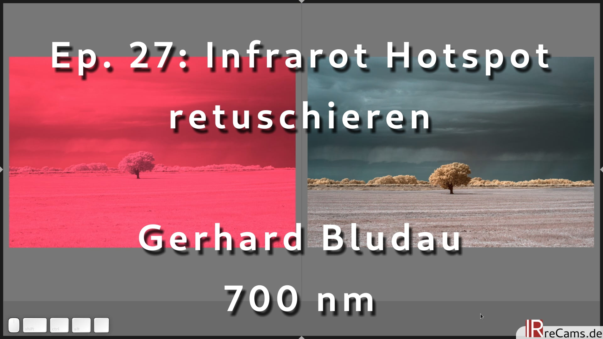 Ep. 27: Infrarot Hotspot Retusche Tutorial mit darktable