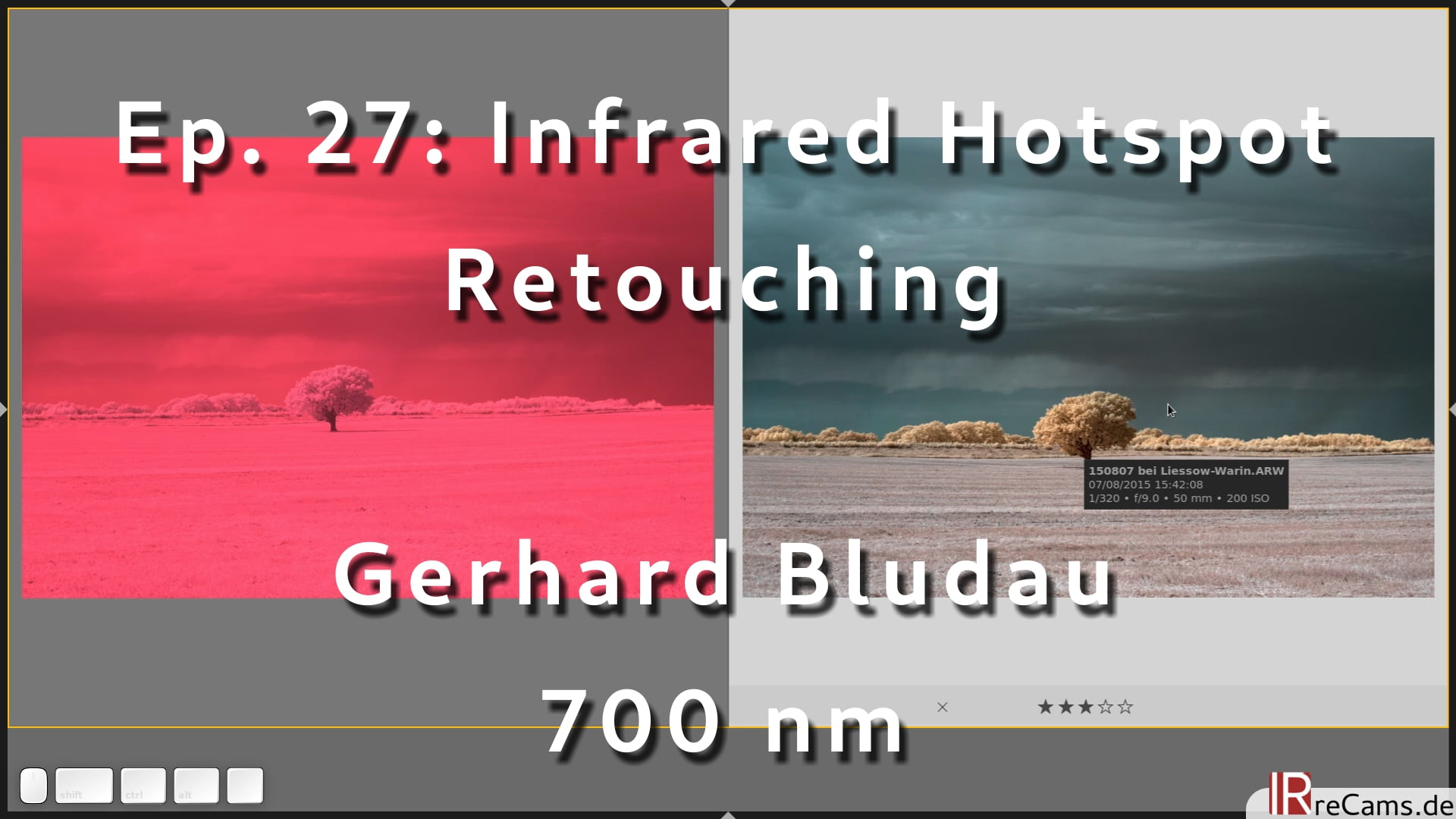 Ep. 27: Infrared Hotspot Retouch Tutorial with darktable