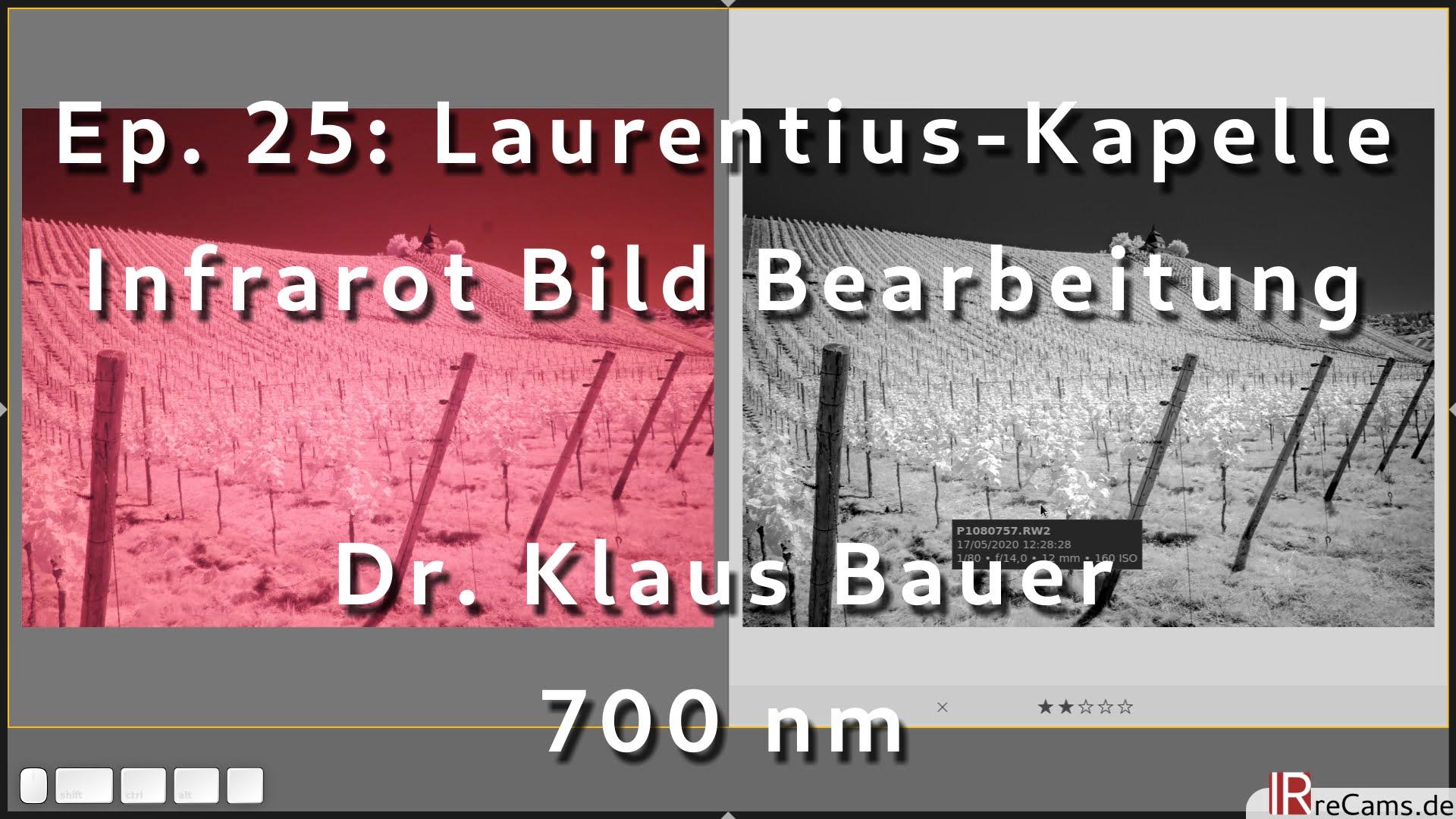 Ep. 25: Laurentius-Kapelle | Infrarot Bild Bearbeitung mit darktable 3.4