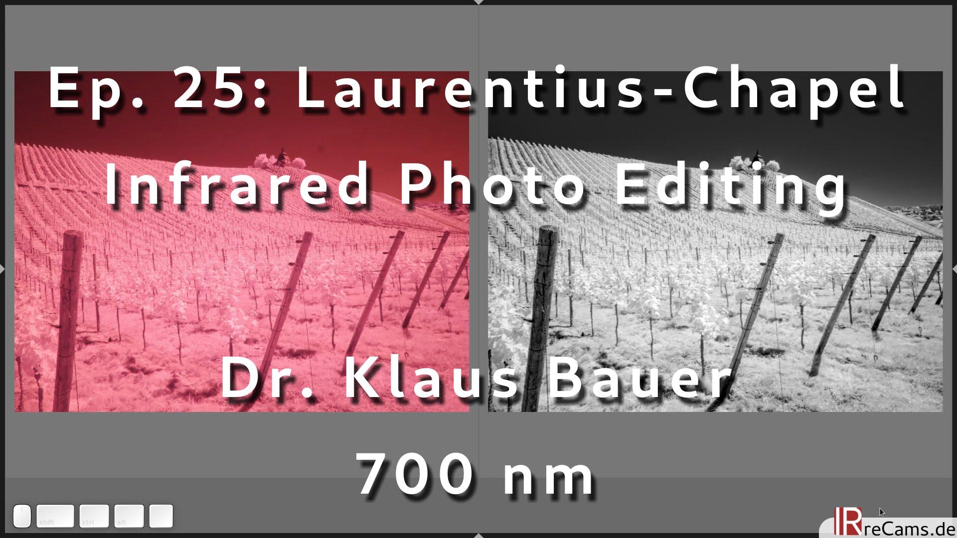 Ep. 25: Laurentius Chapel | Infrared Image Editing with darktable 3.4
