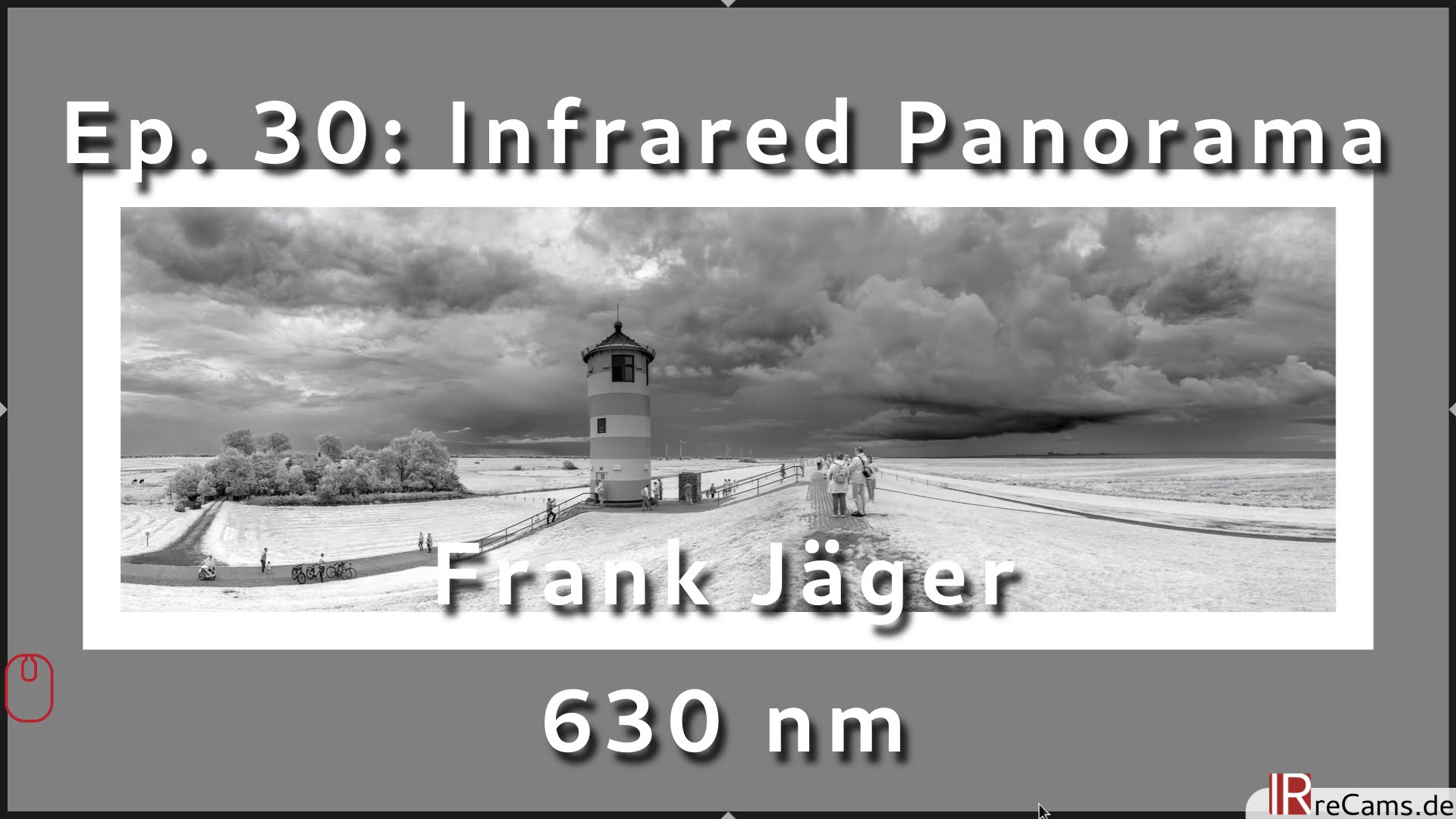 Ep. 30: How to create an Infrared Panorama with darktable and Hugin