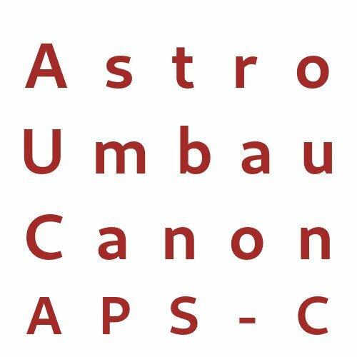 Astro Umbau Canon APS-C
