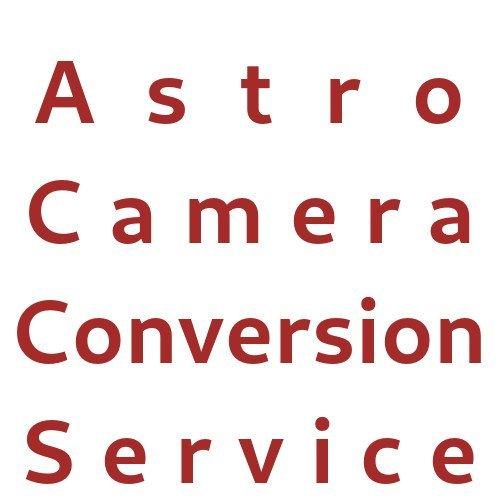 Astro Camera Conversion Service