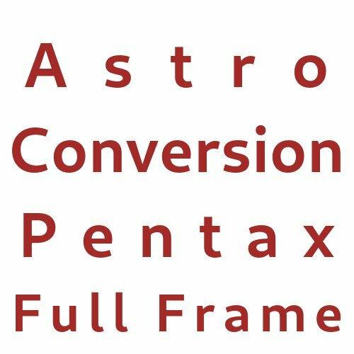 Astro Conversion Pentax APS-C